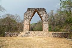 Arco de Kabah. foto de stock royalty free
