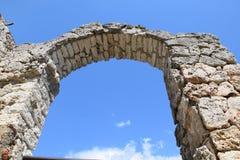 Arco de Kaliakra em Bulgária imagens de stock