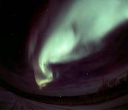 Arco de la aurora de la onda Imagen de archivo
