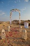 Arco de la boda Fotos de archivo