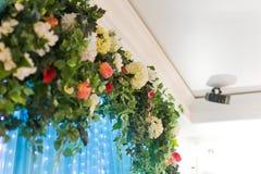 Arco de la boda adornado Foto de archivo