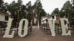 Arco de la ceremonia de boda
