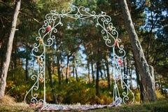 Arco de la decoración Imagen de archivo libre de regalías