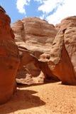 Arco de la duna de arena Fotografía de archivo libre de regalías
