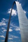 Arco de la entrada - St. Louis, MES - los E.E.U.U. Imagenes de archivo