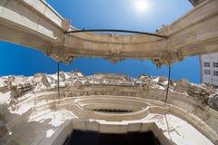 Arco de la iglesia Foto de archivo libre de regalías