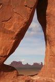 Arco de la lágrima al valle del monumento Foto de archivo libre de regalías