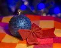 Arco de la Navidad sobre bokeh mágico Foto de archivo libre de regalías