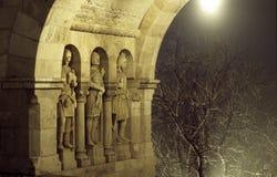 Arco de la noche Foto de archivo libre de regalías