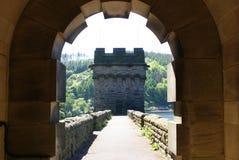 Arco de la presa Imagen de archivo
