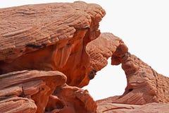 Arco de la roca fotografía de archivo libre de regalías