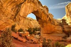 Arco de la roca Imagen de archivo libre de regalías