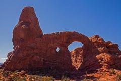 Arco de la torrecilla Imagen de archivo libre de regalías