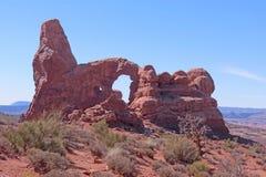 Arco de la torrecilla fotografía de archivo libre de regalías