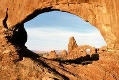 Arco de la torreta Imagen de archivo libre de regalías