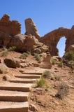 Arco de la torreta Imagenes de archivo