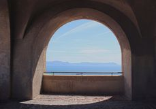 Arco de la ventana Imágenes de archivo libres de regalías