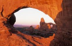 Arco de la ventana Fotos de archivo