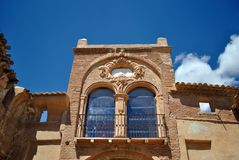 Arco de la Villa in Belchite Royalty Free Stock Photography