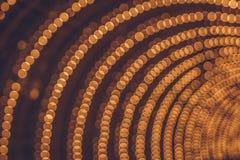 Arco de las luces del bokeh Iluminación festiva foto de archivo