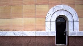 Arco de mármol Imágenes de archivo libres de regalías