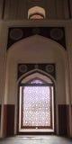 Arco de mármol de la pantalla del enrejado Imagen de archivo libre de regalías
