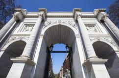Arco de mármol en Londres Imagen de archivo libre de regalías
