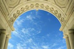 Arco de mármore Fotografia de Stock