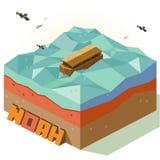 Arco de Noah del milagro Fotografía de archivo