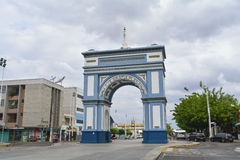 Arco de Nossa Senhora de Фатима, символ города Sobral, положения Ceara, Бразилии Стоковое Изображение