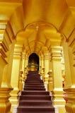Arco de oro Foto de archivo