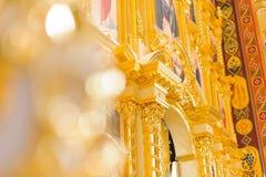 Arco de oro Fotos de archivo
