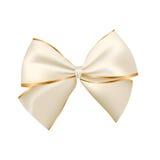 Arco de oro y de plata Foto de archivo libre de regalías