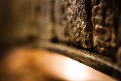 Arco de pedra abstrato - cores mornas foto de stock