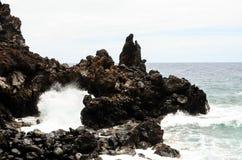 Arco de piedra natural Foto de archivo libre de regalías