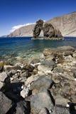 Arco de piedra natural Roque de la Bonanza, EL Hierro isl Fotografía de archivo libre de regalías