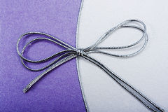 Arco de plata Imágenes de archivo libres de regalías