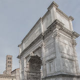 Arco de Roma de Titus Square Composition Imagem de Stock Royalty Free