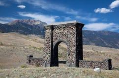 Arco de Roosevelt, Yellowstone Imagen de archivo libre de regalías