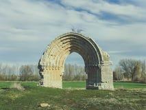 Arco de San Miguel de Mazarreros fotos de stock royalty free