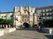 Arco de Santa María Imagenes de archivo