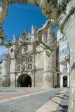 Arco de Santa María en la ciudad de Burgos Foto de archivo libre de regalías