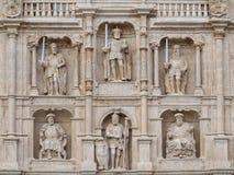Arco de Santa Maria - Burgos Foto de archivo