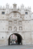 Arco de Santa Maria in Burgos (Spain) Royalty Free Stock Photos