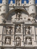 Arco DE Santa Maria, Burgos (Spanje) Royalty-vrije Stock Afbeeldingen
