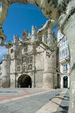 Arco de Santa Maria in the city of Burgos Royalty Free Stock Photo