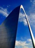 Arco de St Louis Fotografia de Stock Royalty Free