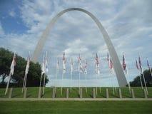 Arco de St Louis Foto de archivo