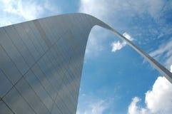 Arco de St Louis em Missouri fotos de stock