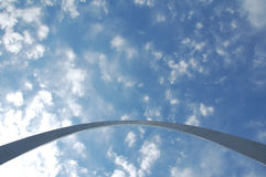 Arco de St. Louis en Missouri Fotografía de archivo libre de regalías